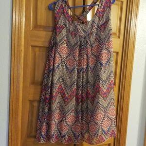 Multi-color shift dress 14